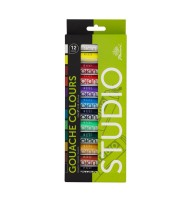 Set 12x12ml culori gouache...