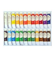Set 24x12ml culori gouache...