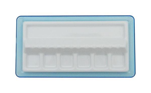 Paleta plastic cu suport pensule CWR