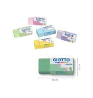 Radiera creion Minigomma Pastel Giotto