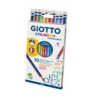 Set 10 creioane colorate cu...