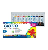 Set 12 culori tempera extrafine Giotto