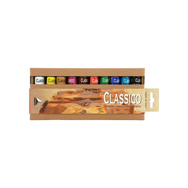 Set 10x20ml Culori in Ulei Classico Maimeri blister