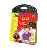 Set tabla si creta Giotto Bebe