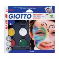 Set Pictura pe Fata, 6 Culori, Classic Giotto