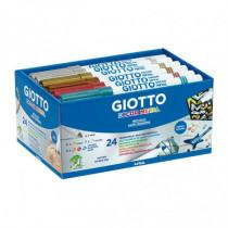 Set 24 markere Decor Metal Giotto