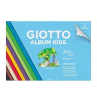 Bloc hartie colorata Album Kids Giotto