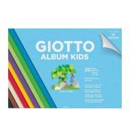 Bloc hartie colorata Album Kids Giotto
