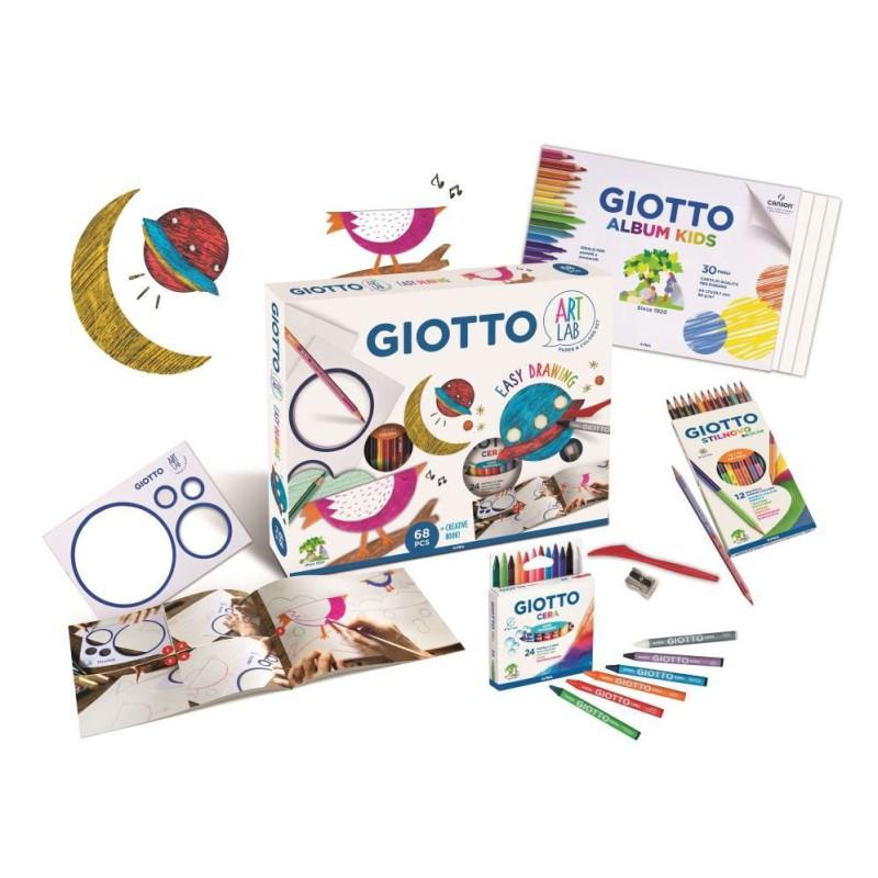 Set creativ Easy Drawing Art Lab Giotto