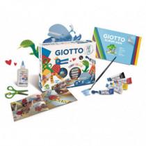 Set creativ Funny Collage Art Lab Giotto