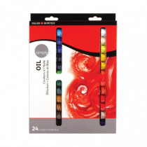Set 24x12ml Culori in Ulei Simply Daler Rowney
