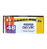 Set 48x22ml culori acrilice...