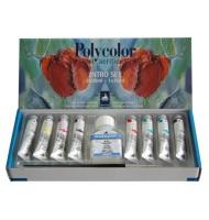 Set 8x20ml culori vinilice Polycolor Maimeri