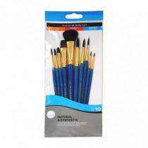 Set 10 pensule acuarela Simply Daler Rowney