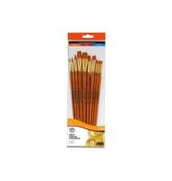 Set 10 pensule acrilic...
