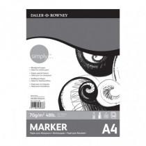 Bloc marker Simply Daler Rowney