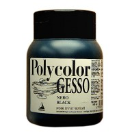Gesso Polycolor negru Maimeri