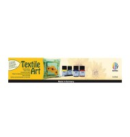 Set 6x20ml culori textile...