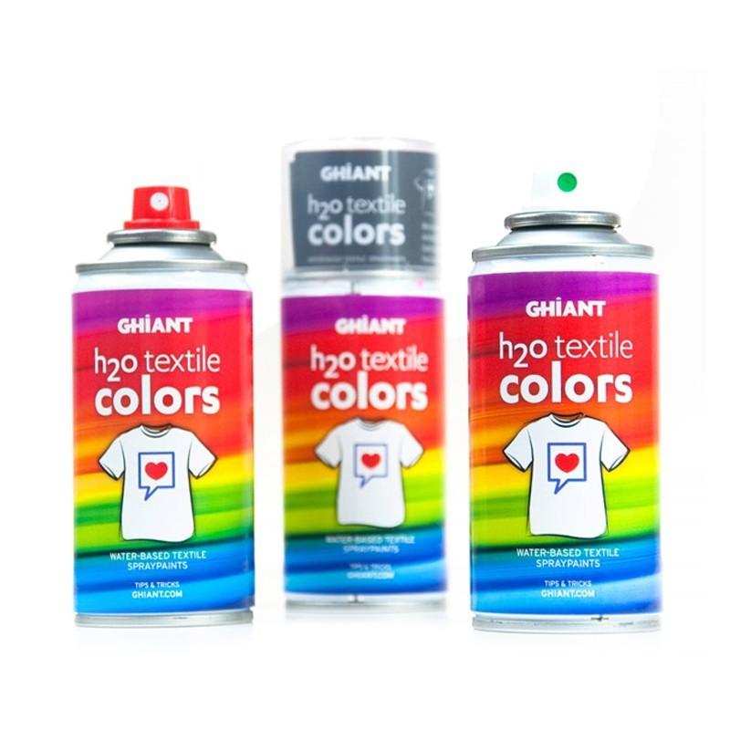 Culori textile spray H2O Textile Colors Ghiant