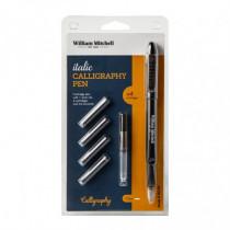 Set stilou Italic Calligraphy William Mitchell