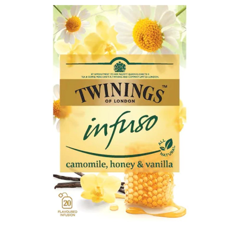 Infuzie Musetel, Miere si Vanilie Twinings 20*1,5g