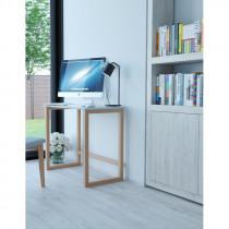 Birou Computer / Masa Multifunctionala, 75 x 50 x 90 cm, bienWood BIE7014