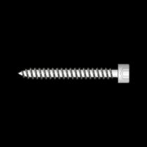 Surub pentru Tabla cu Cap Cilindric Inbus, Inox A2