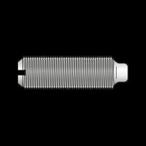 Stift Filetat cu Crestatura si Cep DIN 417, Otel Gr.5.8