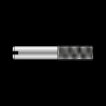 Stift Partial Filetat cu Crestatura DIN 427, Otel Gr.5.8