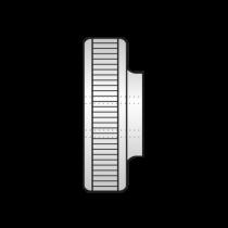 Piulita Striata DIN 467, Otel Gr.5