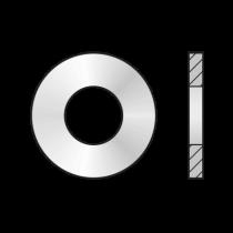 Saiba pentru Lemne (serie Mare) DIN 1052, Otel, Zincat