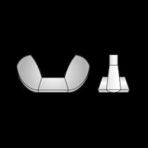 Piulita Fluture DIN 315, Inox A2