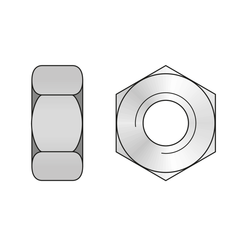 Piulita Hexagonala DIN 555, Plastic
