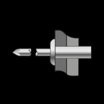 Pop-nituri Etanse, Aluminiu/aluminiu