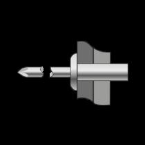 Pop-nituri Etanse Cap Bombat, Inox A2/inox A2