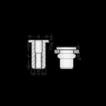 Piulite-nit Standard, Aluminiu