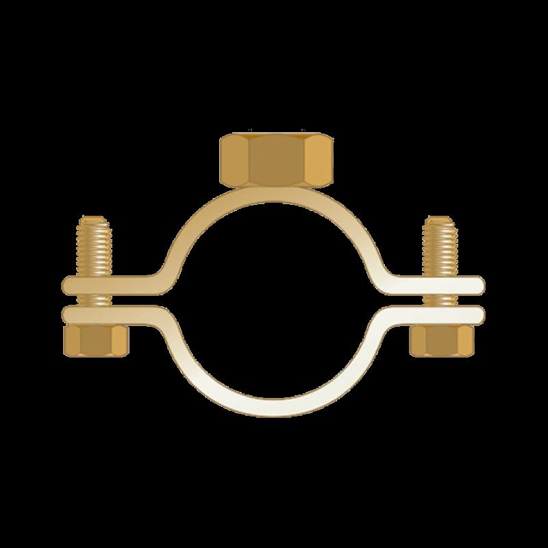 Colier Standard cu Piulita Dubla, Piulita M8+m10