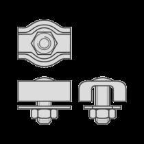 Cleme Simple pentru Cabluri Metalice de Tractiune