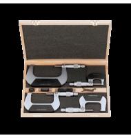 Set de 4 Micrometre Standard