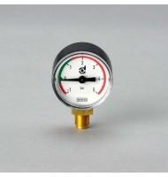 Manometru Hidraulic P171954, Lungime 40 mm, Diam. Ext. 39 mm, Filet 1/8 Bsp/G, Donaldson
