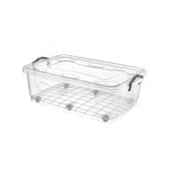 Cutie Transparenta, pentru Depozitare, 80 l, Tuffex TP487