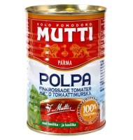 Rosii cu Busuioc, Taiate Fin, Mutti, 400 g