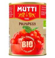 Rosii Cuburi Bio, Mutti, 400 g