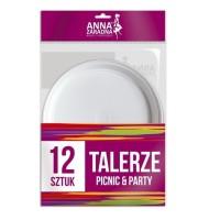 Farfurii Plastic Anna 12...