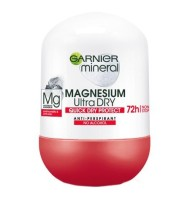 Deodorant Roll-On Magnesium Ultra Dry Garnier 50ml