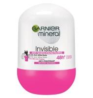 Deodorant Roll-On Invisible Black & White & Colors Garnier 50ml