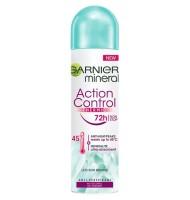 Deodorant Spray Action...
