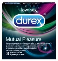 Prezervative Durex Mutual Pleasure 3 bucati / cutie