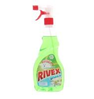 Solutie pentru Geam cu Pulverizator, Rivex Verde-Spring Fresh 750 ml