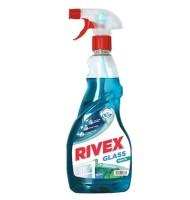 Solutie pentru Geam cu Pulverizator, Rivex Menta 750 ml